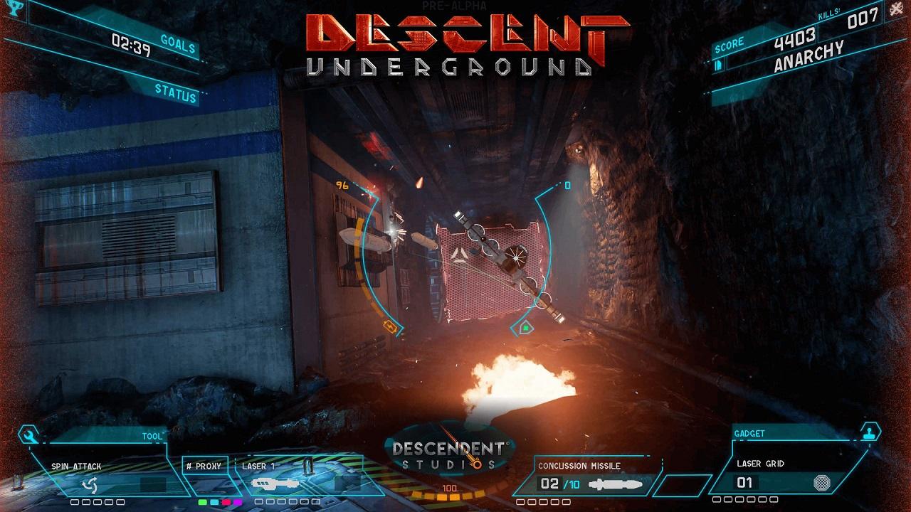 Descent: Underground скачать торрент