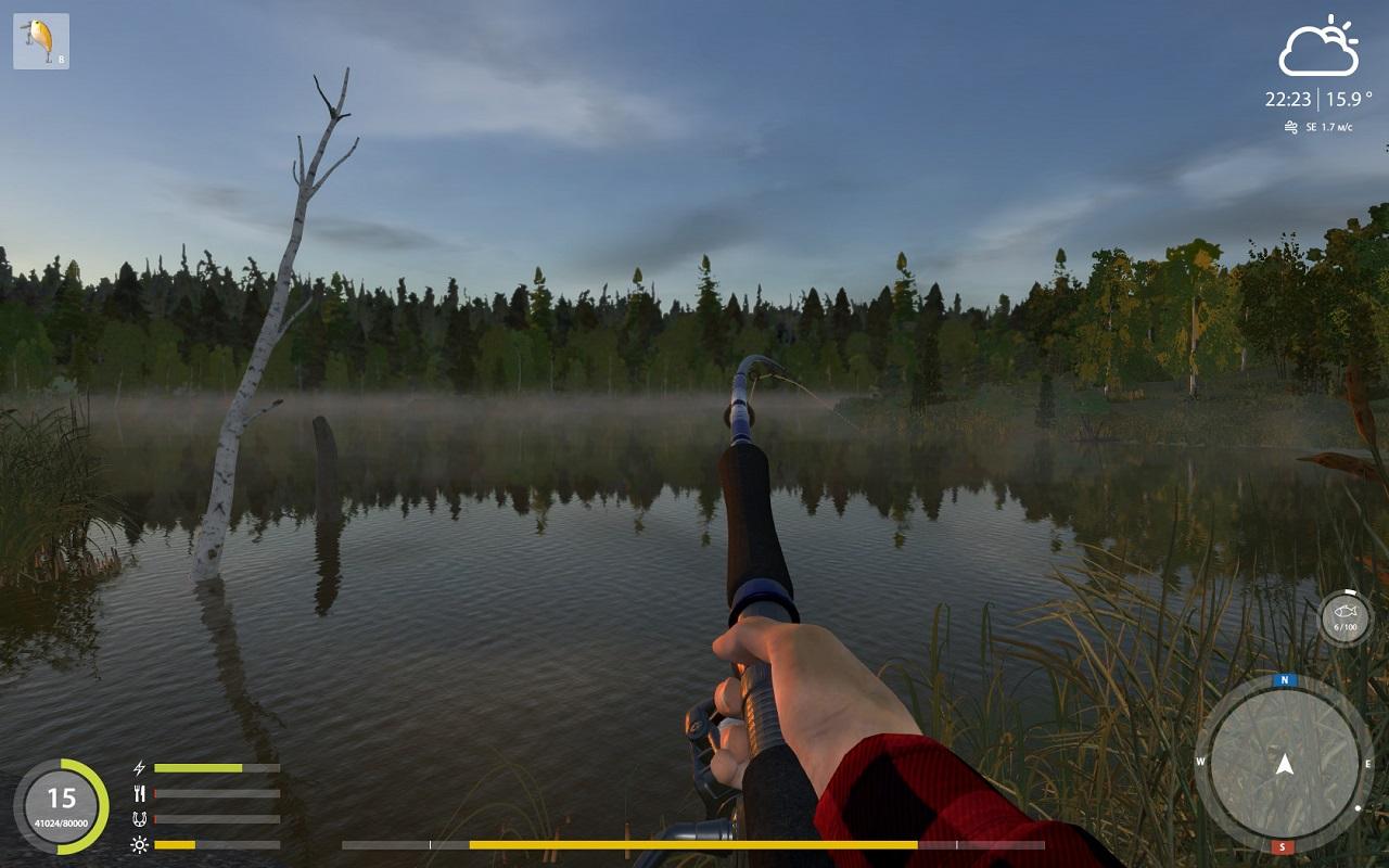 игра русская рыбалка 4