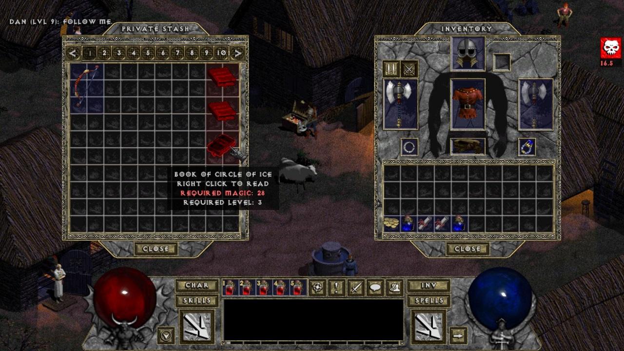 Diablo 1 HD Mod скачать торрент бесплатно на ПК