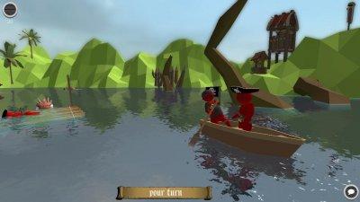 Stupid Raft Battle Simulator