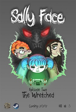 Sally Face Episode 1-4 на русском