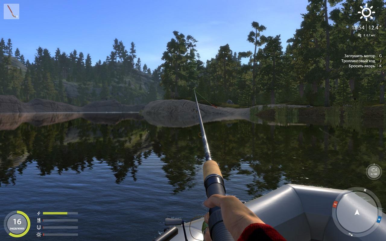 русская рыбалка 3 урал