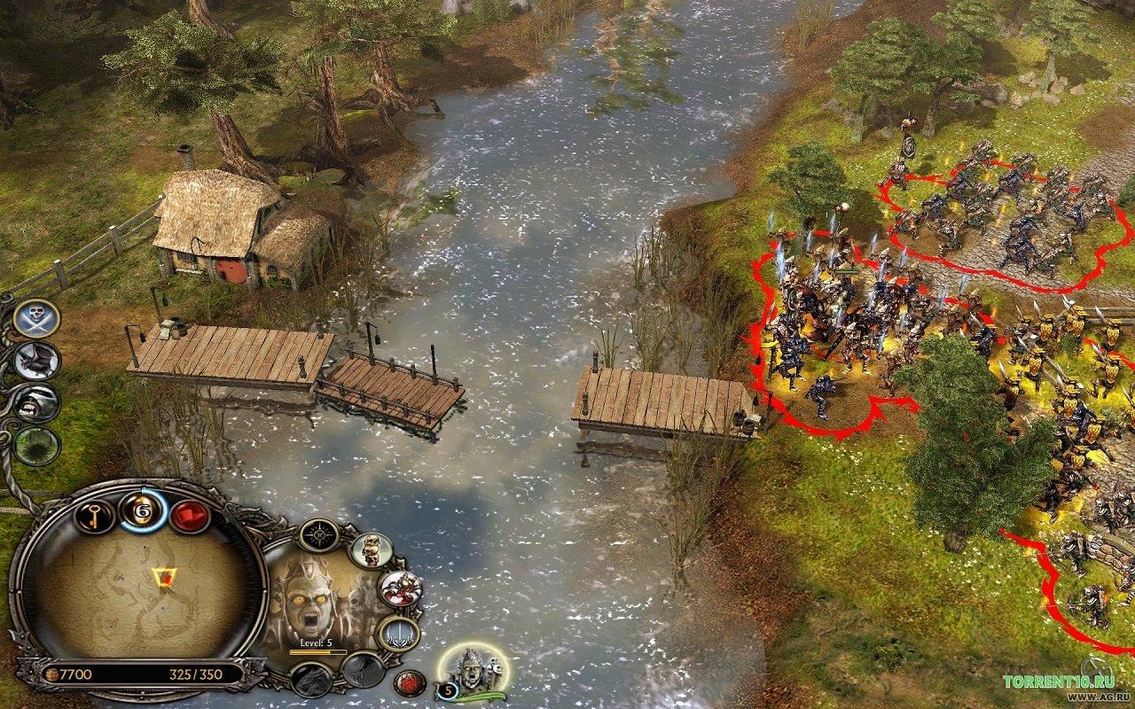скачать властелин колец битва за средиземье 1 с русской озвучкой