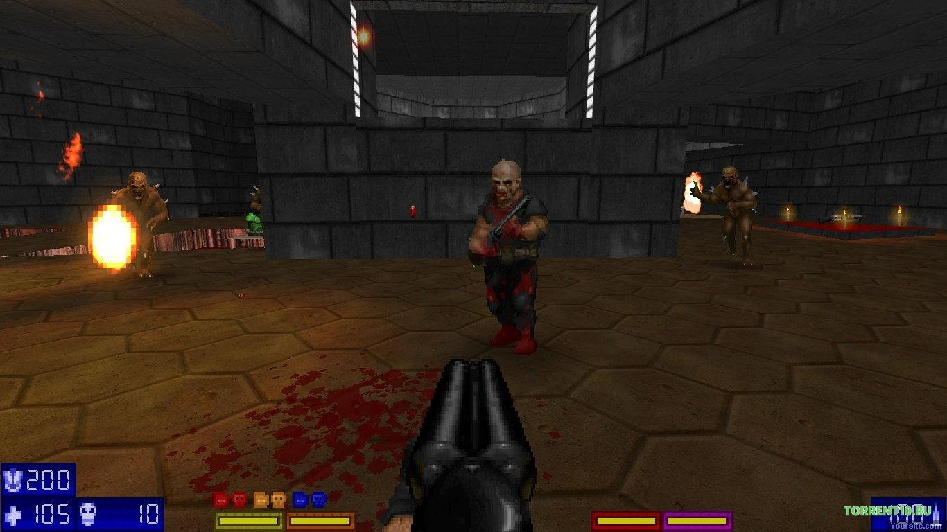 Brutal Doom v21 скачать торрент бесплатно на ПК