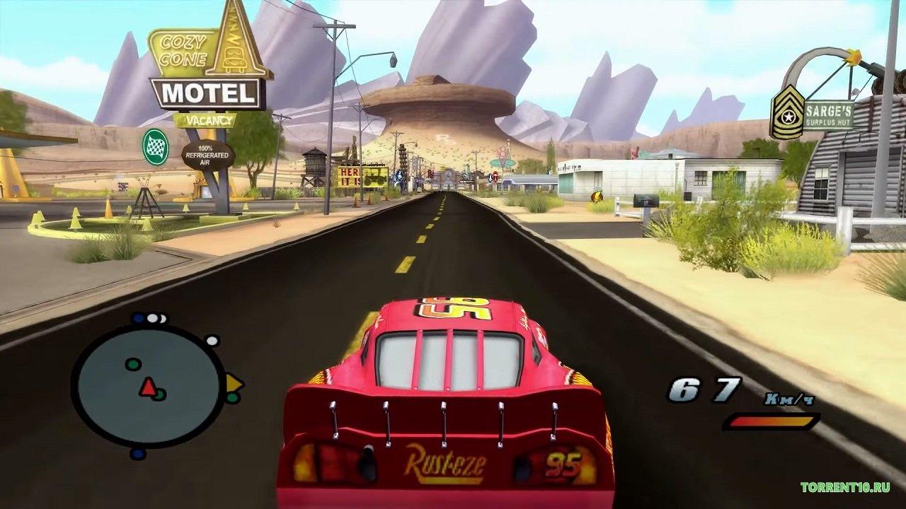 Смотреть мультфильм Тачки онлайн в хорошем качестве 720p