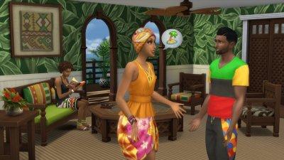 Симс 4 Карибы
