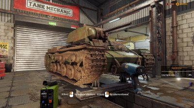 Tank Mechanic Simulator 2020 Механики