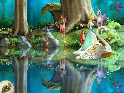 Барби Лебединое озеро