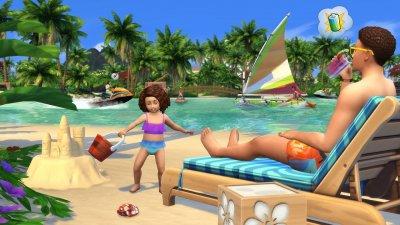 Симс 4 Жизнь на острове