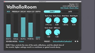 Valhalla Room VST